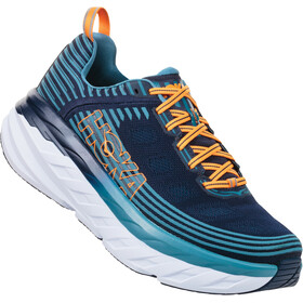Hoka One One Bondi 6 Running Shoes Herrer, black iris/storm blue